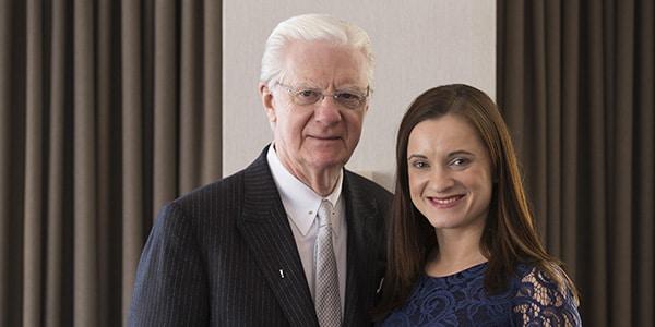 Ewa Pieterzak with Bob Proctor