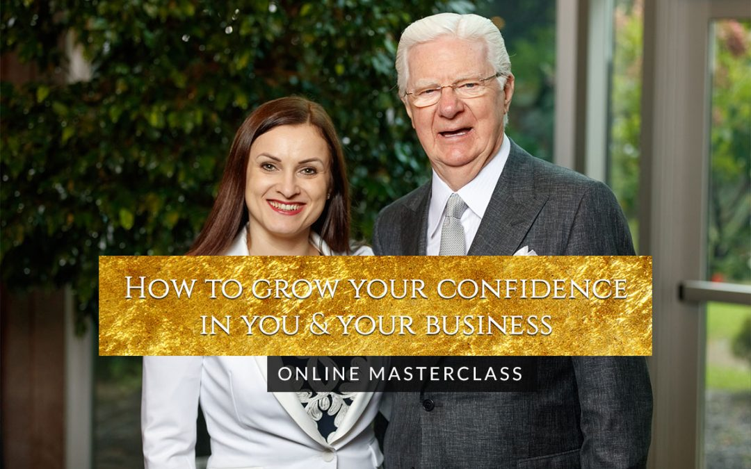 How to grow your confidence in you & your business – Online Masterclass